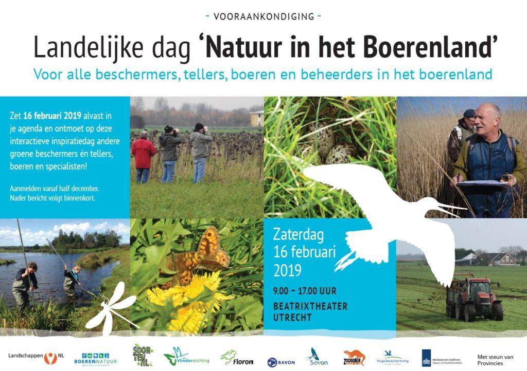 Landelijk dag 'Natuur in het Boerenland'